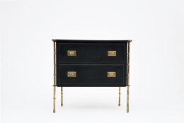 Jacques Adnet chest of drawers front