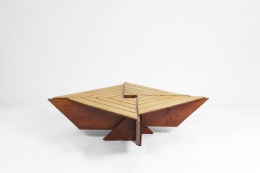 Hervé Baley's coffee table full view