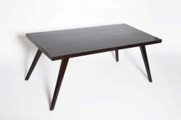 Pierre Jeanneret's dining table view of the top