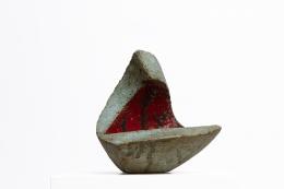 Andre-Aleth Masson's ceramic bowl diagonal view