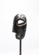 Jaque Sagan's ceramic mask, side of mask