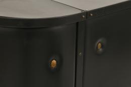 Jacques Adnet's bar detail
