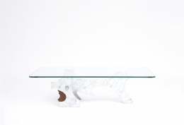 Fred Brouard's coffee table other side straight view