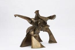 """Caroline Lee's """"La faiseuse d'amour"""" sculptural dining table view of sculptural base component"""