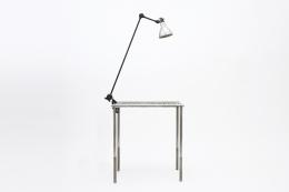 Bernard-Albin Gras clamp desk lamp full view