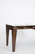Pierre Jeanneret's console, cropped view of side of the table
