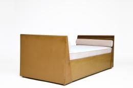René Prou's daybed, full diagonal view