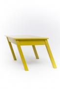 Rafael Barrios' Mesa table straight view