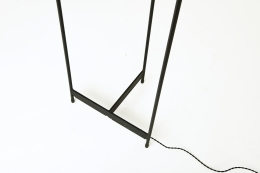 Unknown artist's floor lamp, detailed view of base
