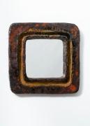 Juliette Derel's ceramic mirror full straight view
