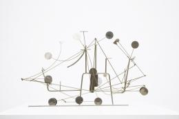 François Colette's kinetic sculpture full straight view