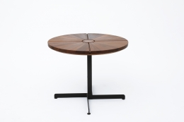 """Charlotte Perriand's """"Soleil"""" adjustable table, full view"""