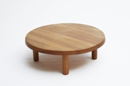 """Pierre Chapo """"T02M"""" coffee table view from above"""