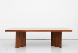 Pierre Jeanneret's Library table, full straight view