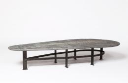 Pia Manu's coffee table diagonal view