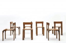 George Candilis' set of 6 chairs view two
