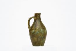 Les 2 Potiers' ceramic vase front straight view