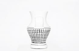 Roger Capron's ceramic vase side view
