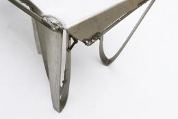 Albert Feraud's coffee table view of corner of table