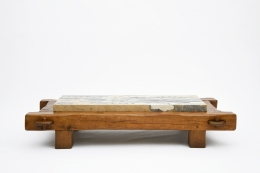Paul Becker's coffee table straight view