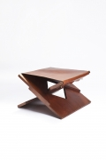 Hervé Baley's stool diagonal view