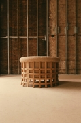 Studio Giancarlo Valle's cage armchair, full back view