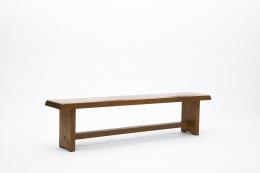 """Pierre Chapo's """"S14B"""" bench diagonal view"""