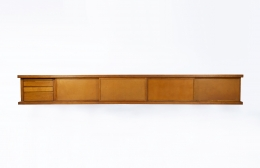 """Pierre Chapo's """"Le Pettit"""" sideboard full straight view"""