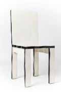 Howard Meister designer chair, full diagonal view