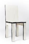 Howard Meister designer chair, full diagonal view