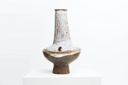 Juliette Derel's ceramic vase front straight view