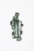 Andre-Aleth Masson's ceramic wall sculpture full straight view