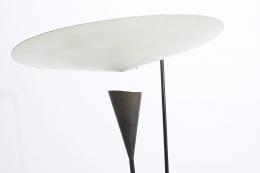 Michel Buffet's floor lamp detail of lamp shade