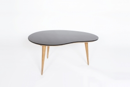 Jean Royère's free form coffee table, full view from above