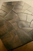 Studio Giancarlo Valle's Martha table, detailed view of table top