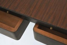 Jacques Adnet desk detail