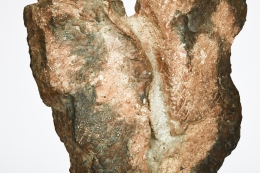 Joëlle Deroubaix's Large Sculpture, detailed view of sculpture