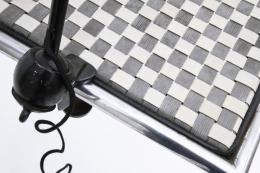 Bernard-Albin Gras clamp desk lamp detailed view of clamp