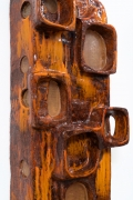 Juliette Derel's ceramic sconce detailed view