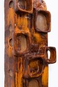 Juliette Derel's ceramic sconce detailed view