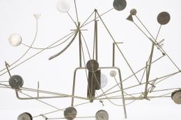 François Colette's kinetic sculpture detailed view