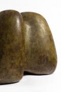 Les 2 Potiers' ceramic sculpture detailed view