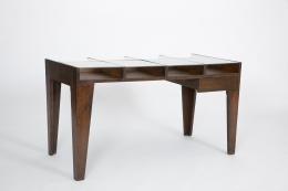 Pierre Jeanneret's console, full diagonal view