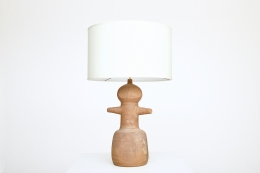 Claude & Jean Bersoux's table lamp, front straight view