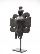 Roger Capron's ceramic mask diagonal view
