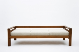"""Pierre Chapo's """"L06A"""" daybed straight view from above"""