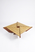 Hervé Baley's coffee table top view