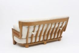 "Guillerme et Chambron's ""Denis"" sofa back view"