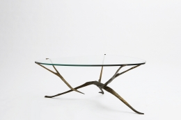 Felix Agostini's coffee table