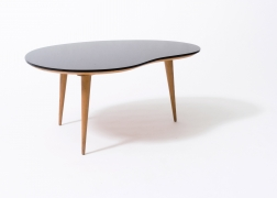 Jean Royère's free form coffee table, full view